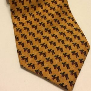 VTG Nordstrom JZ Richards Rudolph the Red Nose Tie